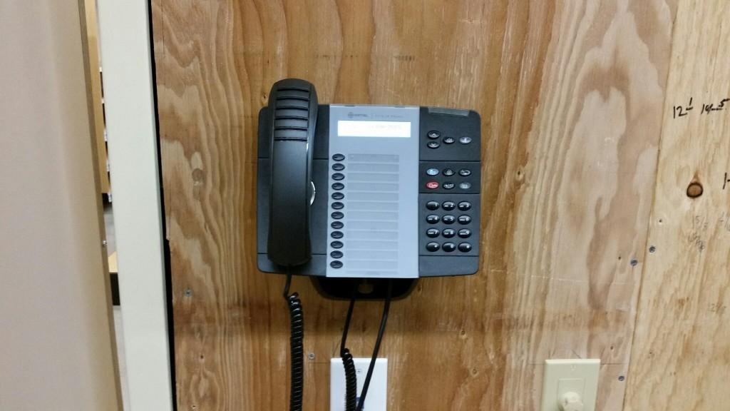 Receiving Area Phone