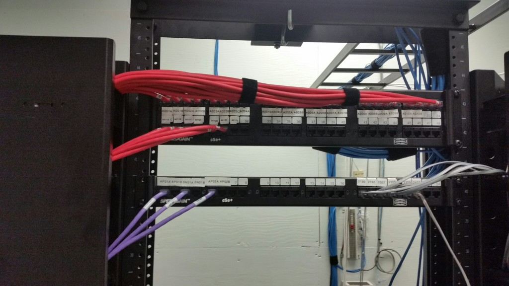 Cabling up close